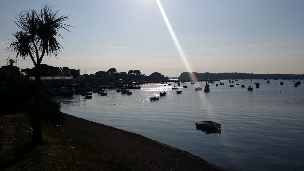 The Boats in Poole Harbour