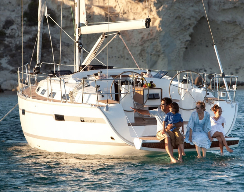 Family Sailing Day on Bavaria Cruiser